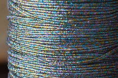 Šujtášová šnúrka USA luxury metallic rainbow, 2.5mm, 0,70€/meter