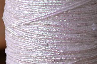 Galantéria - Šujtášová šnúrka USA luxury metallic iris, 2.5mm, 0,70€/meter - 9401834_
