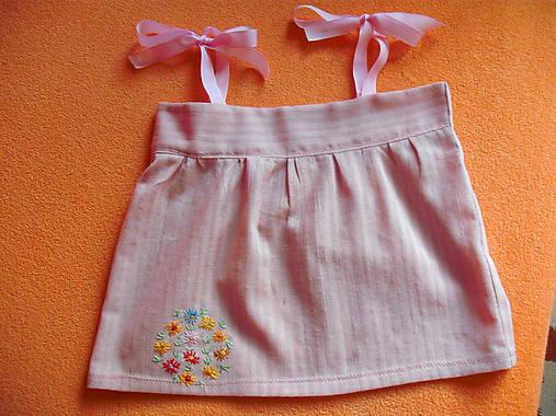31137ce63479 Nolwenn II. detské letné šaty   ewica888 - SAShE.sk - Handmade ...