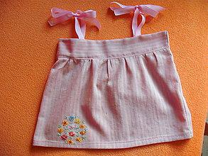 Detské oblečenie - Nolwenn II. detské letné šaty - 9402532_