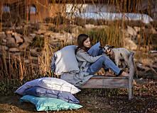 Úžitkový textil - Obliečka na vankúš Beauty in Simplicity (spring collection) (70x90 cm - Tyrkysová) - 9403946_