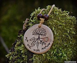 Náhrdelníky - Be one with nature - 9406965_