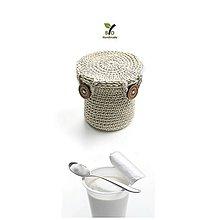 Drobnosti - Bio obal na jogurt - 9407813_
