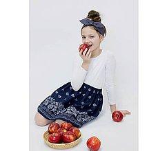 Detské oblečenie - suknička Sofi folk v.92-140 - 9407726_