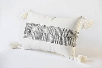 Úžitkový textil - Polštář /// geometrický - 9407584_