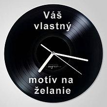 Hodiny - Vaše jedinečné vinylové hodiny (vinyl clocks) - 9405913_