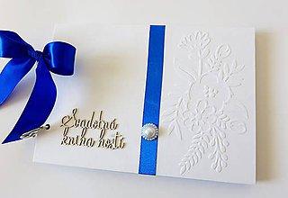 Papiernictvo - svadobná kniha hostí - 9404835_