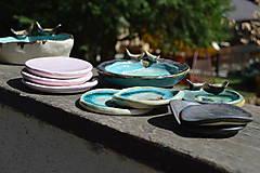 Nádoby - svietnik, podložka, tanierik :o))) - 9405277_