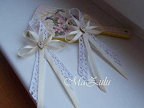 Pierka - vintage svadobné pierka pre rodičov - 9404711_