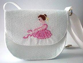 Detské tašky - Moja prvá kabelka (Baletka) - 9404898_