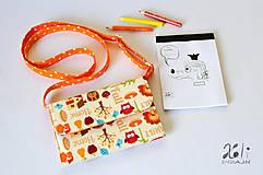 Detské tašky - Detská kabelka - pastelkovníčka Zvieratká - 9407416_