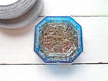 špendlíky na falošný patchwork,krátke 16mm 50g
