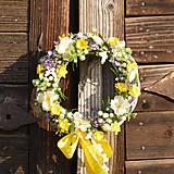 Dekorácie - Venček na dvere - 9407194_