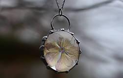 Náhrdelníky - Hydrangea - 9404729_