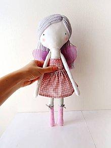 Hračky - Len ja a môj svet - autorská bábika VI. - 9406447_