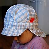 Detské čiapky - ŠILTOFKA s plachtičkou - na objednávku - 9404870_