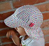 Detské čiapky - ŠILTOFKA s plachtičkou - na objednávku - 9404871_