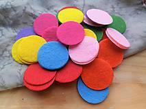 Textil - Filcové krúžky - 48 ks - 9407179_