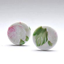 Náušnice - Napichovacie náušnice / Pecky kvety - 9405101_