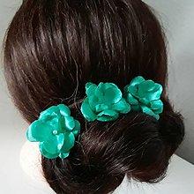Ozdoby do vlasov - Kvety do vlasov - 9405861_