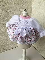 - Šatočky pre bábiky- 25-27 cm - 9405342_