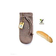 Úžitkový textil - Bio obaly na rožteky na desiatu - 9408415_
