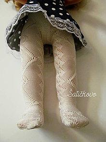 Hračky - Pančušky Vanilka pre bábiku Nelli - 9410409_