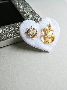 Odznaky/Brošne - Brošňa Srdce 3 - 9411064_