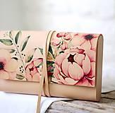 - Listová kabelka PEONY CLUTCH SLIM - 9409569_