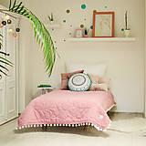 Úžitkový textil - Mušelínová deka - 9411534_