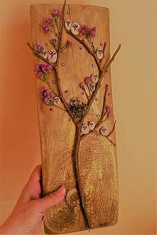Obrazy - Zakvitnutý vtáčí strom :) - 9408428_