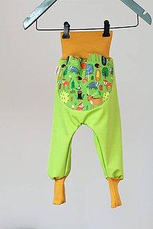 Detské oblečenie - Softshellové nohavice