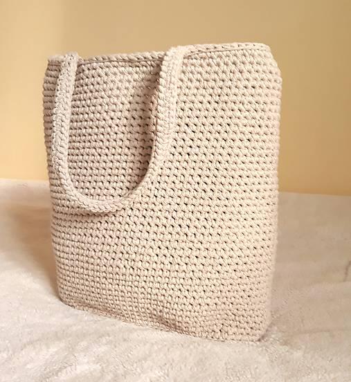 Veľké tašky - Veľká taška - béžová - 9410169_