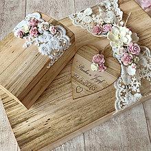 Krabičky - Svadobná súprava - 9409424_