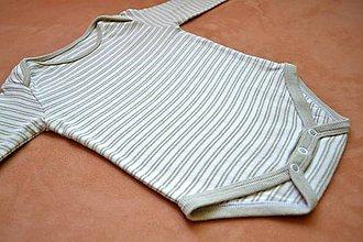 Detské oblečenie - Cenovo výhodný balíček z farebne rastúcej biobavlny - 9410206_