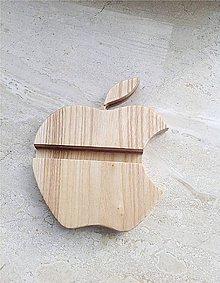 Dekorácie - Stojan na mobil - apple - 9408329_