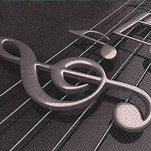 Papier - husľový kľúč - 9408904_