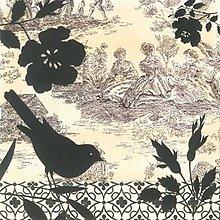 Papier - dámy a vtáčik - 9408917_