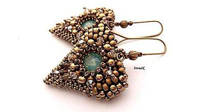 Náušnice - Angel (bronz) - 9410747_