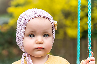 Detské čiapky - Čepček na prechodné obdobie - bavlnený - 9415249_