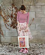 Veľké tašky - Pre kreatívne dievky/ Eliška - 9414308_