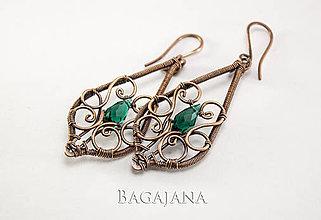 Náušnice - Náušnice s ornamentami - 9413338_