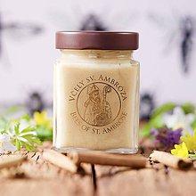 Potraviny - med z divých kvetov s cejlónskou škoricou (400g) - 9412786_