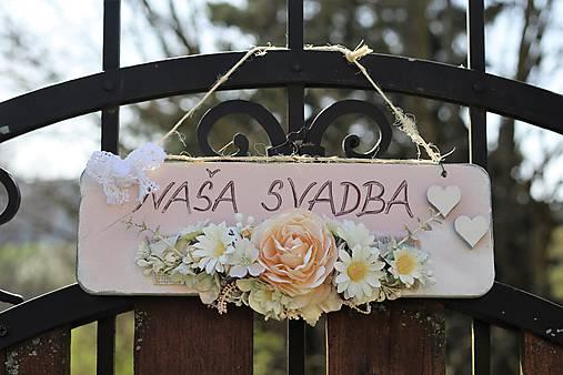 Svadobná tabuľka