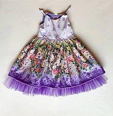 Detské oblečenie - Vílová rozkvitnutá záhrada - 9412726_