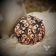 Náhrdelníky - Motýle, amulet - 9413542_