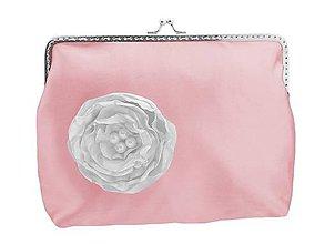 Taštičky - Svadobná kabelka růžová, kabelka pre nevestu 1485A (Ružová) - 9415099_