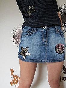 Detské oblečenie - Suknička s otáčavými flitrami - 9415046_