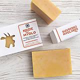 Drogéria - Kozie mydlo v krabičke: MANDARINKA - 9413730_