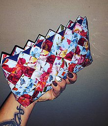 Peňaženky - Mini blue - 9414610_